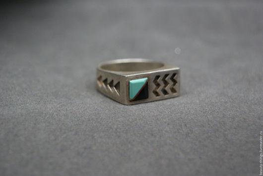 Винтажные украшения. Ярмарка Мастеров - ручная работа. Купить Необычное кольцо навахо серебро. Handmade. Винтаж, Навахо