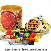 Куклы и игрушки ручной работы. Ярмарка Мастеров - ручная работа Бирюльки в коробочке. Handmade.