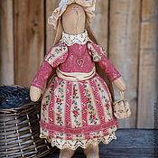 Куклы и игрушки ручной работы. Ярмарка Мастеров - ручная работа Винтажная модница. Зая Фая. Ароматизированная Интерьерная кукла. Handmade.