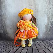 Куклы и игрушки ручной работы. Ярмарка Мастеров - ручная работа Дуняша, 24 см - интерьерная кукла. Handmade.