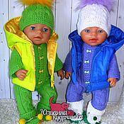 Одежда для кукол ручной работы. Ярмарка Мастеров - ручная работа Одежда для беби бон, Комплект для baby born. Handmade.