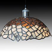 Для дома и интерьера handmade. Livemaster - original item Tiffany style stained glass chandelier. Handmade.
