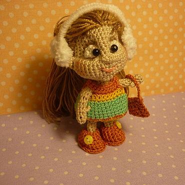 Куклы и игрушки ручной работы. Ярмарка Мастеров - ручная работа Игрушки: Кукла ВАЛЮШКА. Handmade.
