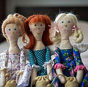 Куклы и игрушки ручной работы. Ярмарка Мастеров - ручная работа Кухонные феи Вера, Надежда, Любовь. Handmade.