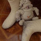 Обувь ручной работы. Ярмарка Мастеров - ручная работа эко-валенки. Handmade.