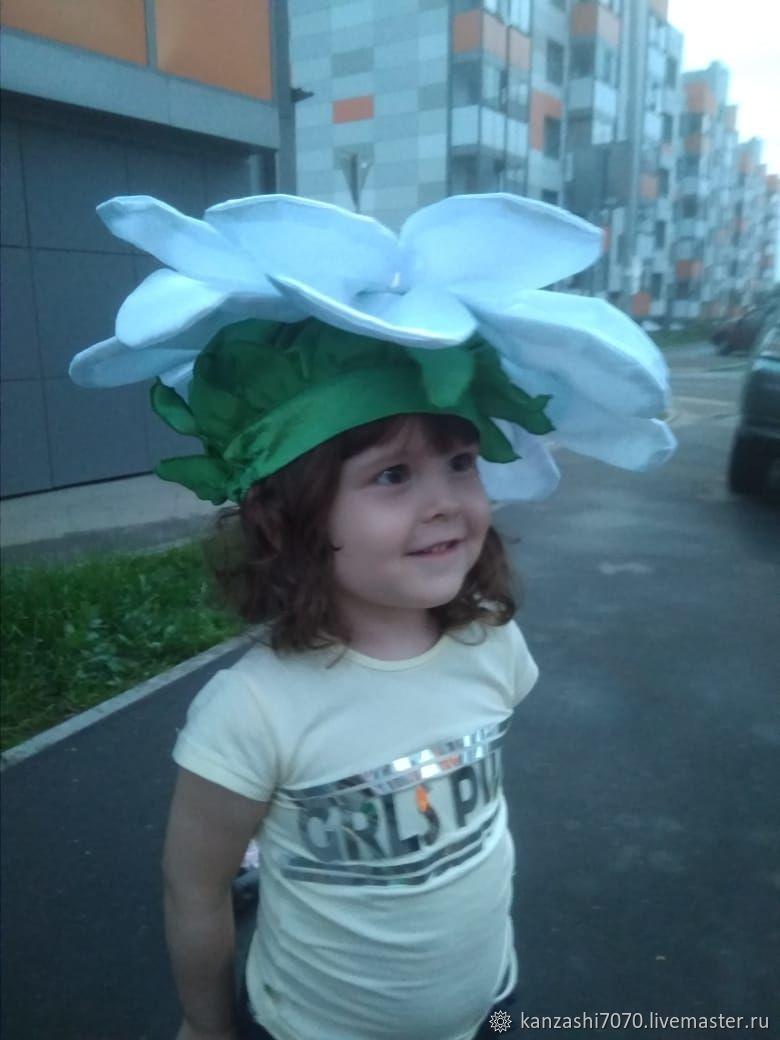 Headdress ' Chamomile', Carnival Hats, Moscow,  Фото №1