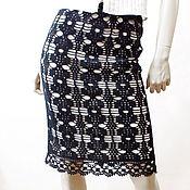 Одежда ручной работы. Ярмарка Мастеров - ручная работа Юбка вязаная ажурная Мечта любой женщины. Handmade.