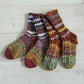 Аксессуары ручной работы. Ярмарка Мастеров - ручная работа Теплые мужские носки. Handmade.