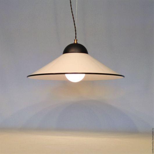 Освещение ручной работы. Ярмарка Мастеров - ручная работа. Купить Люстра с плафоном из фарфора (диаметр - 24, 33 или 45 см). Handmade.