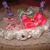 Комплекты аксессуаров ручной работы. Ярмарка Мастеров - ручная работа Набор для маленькой принцессы. Handmade.