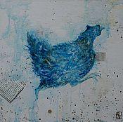 """Картины и панно ручной работы. Ярмарка Мастеров - ручная работа Интерьерная картина """"Summer run"""". Handmade."""
