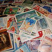 Материалы для творчества handmade. Livemaster - original item Set of 30 stamps of the USSR. Handmade.