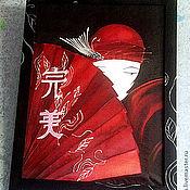 Картины и панно ручной работы. Ярмарка Мастеров - ручная работа Прекрасная китаянка. Handmade.