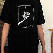 """Одежда ручной работы. Ярмарка Мастеров - ручная работа Футболка """"Роланд"""" с авторским рисунком. Handmade."""