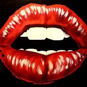 """Картины и панно ручной работы. Ярмарка Мастеров - ручная работа """" Вишнёвый поцелуй """" (копия).. Handmade."""