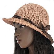Аксессуары handmade. Livemaster - original item Raffia hat Valencia. Handmade.
