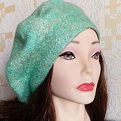 Аксессуары handmade. Livemaster - original item Felted beret