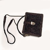 Сумки и аксессуары handmade. Livemaster - original item Latte Handbag. Handmade.