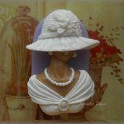 Мыло ручной работы. Ярмарка Мастеров - ручная работа Дама в шляпе. Handmade.