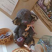 Тедди Зверята ручной работы. Ярмарка Мастеров - ручная работа Тедди Зверята: Мышка Каштанка. Handmade.