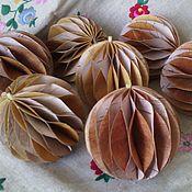 Подарки к праздникам ручной работы. Ярмарка Мастеров - ручная работа шарик для елки. Handmade.