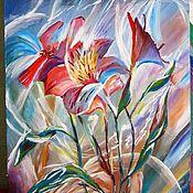 Картины и панно ручной работы. Ярмарка Мастеров - ручная работа Дискотека. Абстрактная картина акрилом. Handmade.