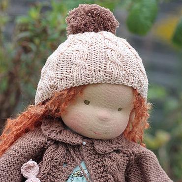 Куклы и игрушки ручной работы. Ярмарка Мастеров - ручная работа Куклы:Вальдорфская кукла Шарлотта 36 см. Handmade.