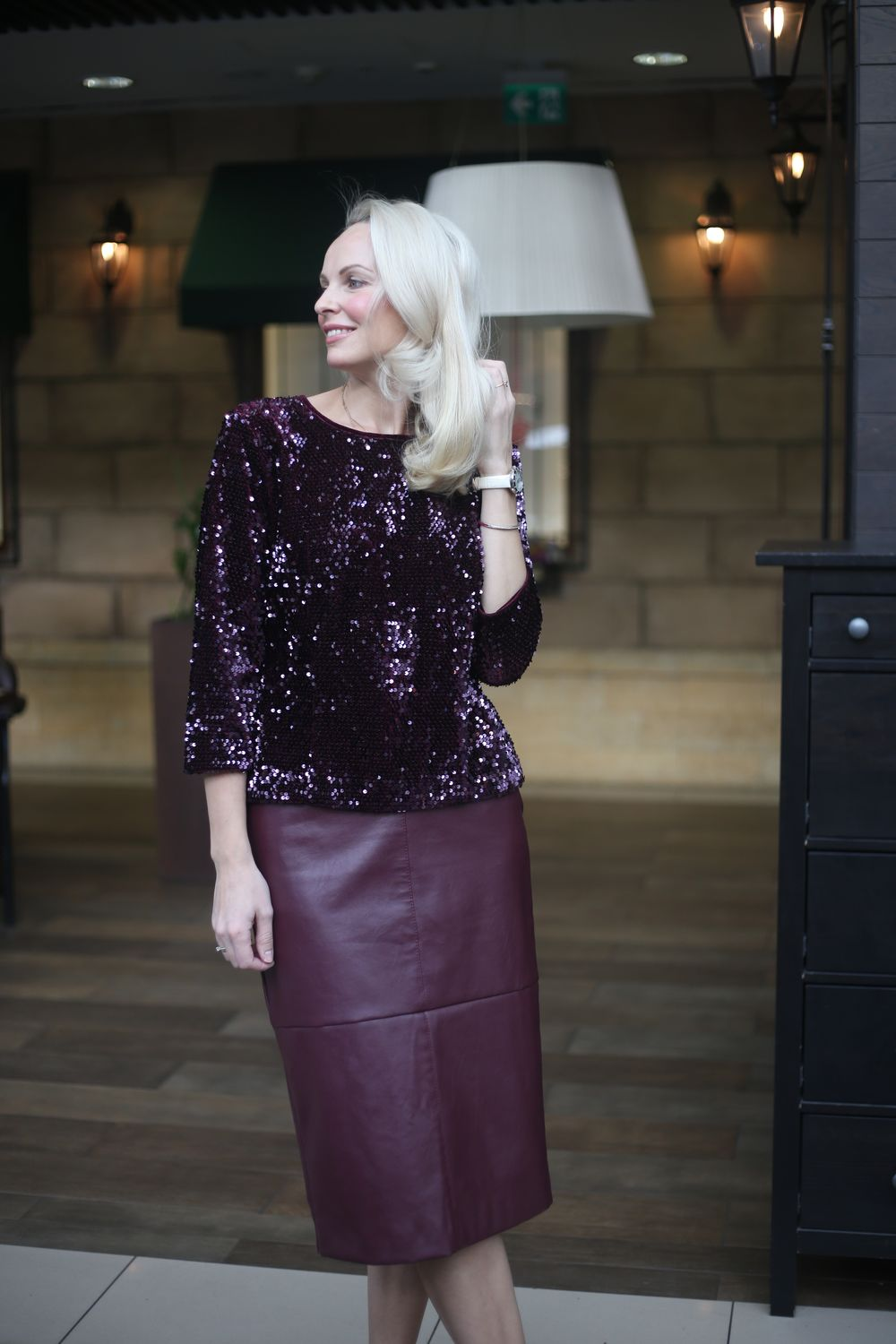 Elegant velvet top with sequins Ruby sequins, Tops, Moscow,  Фото №1