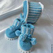 Работы для детей, ручной работы. Ярмарка Мастеров - ручная работа комплект для новорожденных. Handmade.