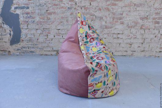 Мебель ручной работы. Ярмарка Мастеров - ручная работа. Купить Кресло-подушка детское. Handmade. Комбинированный, вигвам, кресло-груша