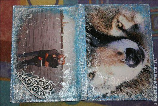 Обложки ручной работы. Ярмарка Мастеров - ручная работа. Купить Обложка для паспорта с фото. Handmade. Декупаж, Аксессуары handmade, обложка