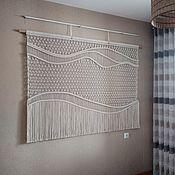 Картины и панно handmade. Livemaster - original item Panel macrame No. №63. Handmade.