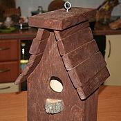 Для дома и интерьера ручной работы. Ярмарка Мастеров - ручная работа садовый скворечник. Handmade.