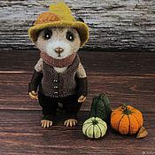 Куклы и игрушки handmade. Livemaster - original item Field tramp (mouse). Handmade.