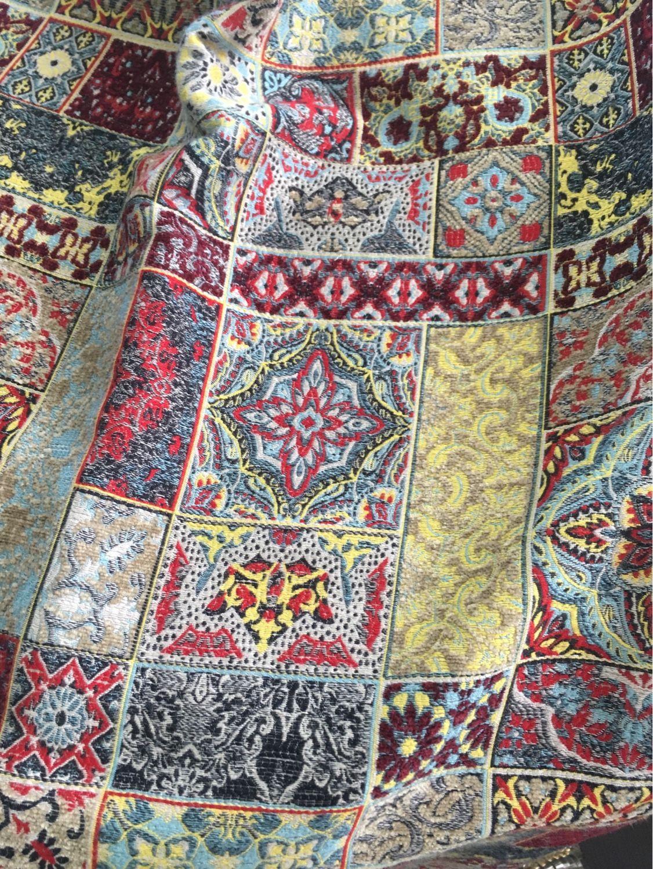 Ткань для обивки с орнаментом – купить на Ярмарке Мастеров – J31PLRU | Ткани, Москва