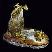 """Модели ручной работы. Ярмарка Мастеров - ручная работа """"Lord Dragon"""" интерьерная композиция в стиле ФЭНТЕЗИ. Handmade."""
