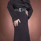Одежда ручной работы. Ярмарка Мастеров - ручная работа пальто с запахом. Handmade.