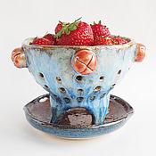 Посуда ручной работы. Ярмарка Мастеров - ручная работа Berry Bowl «Морское чудо». Handmade.