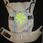 Одежда ручной работы. Ярмарка Мастеров - ручная работа Эргономичный рюкзак с ручной росписью. Handmade.