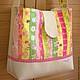 Сумки и аксессуары ручной работы. Ярмарка Мастеров - ручная работа. Купить Сумка-торба летняя. Handmade. Разноцветный, сумка для лета