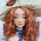 """Куклы и игрушки ручной работы. Ярмарка Мастеров - ручная работа кукла """"Оливия"""". Handmade."""