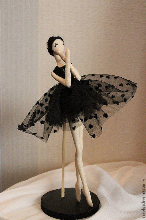 Человечки ручной работы. Ярмарка Мастеров - ручная работа. Купить Кукла балерина. Handmade. Кукла в подарок, кукла текстильная, балет
