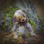 Куклы и игрушки ручной работы. Ярмарка Мастеров - ручная работа Романтик в закате мишка тедди. Handmade.