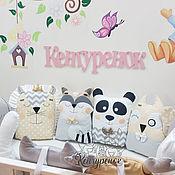 Работы для детей, handmade. Livemaster - original item 11 wonderful animals in the nursery!. Handmade.