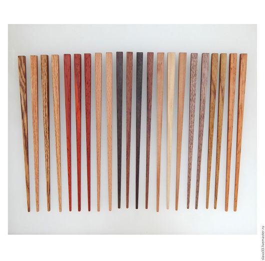 Заколки ручной работы. Ярмарка Мастеров - ручная работа. Купить Деревянные шпильки для волос.. Handmade. Комбинированный, деревянные шпильки