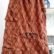 Одежда ручной работы. Ярмарка Мастеров - ручная работа Юбка из валяной шерсти с полиэстром. Handmade.