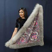 Аксессуары handmade. Livemaster - original item Pavloposadsky shawl