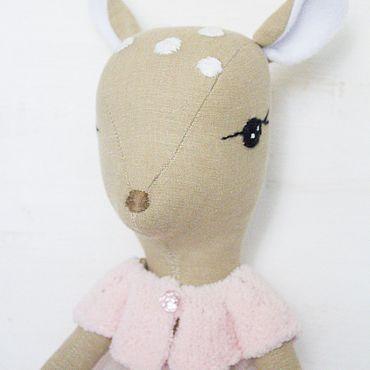 Куклы и игрушки ручной работы. Ярмарка Мастеров - ручная работа Игрушка: Олененок. Handmade.