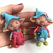 Куклы и игрушки ручной работы. Ярмарка Мастеров - ручная работа Крис и Эмилия. Handmade.