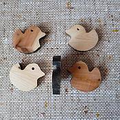 Материалы для творчества ручной работы. Ярмарка Мастеров - ручная работа подвески из можжевельника. Handmade.